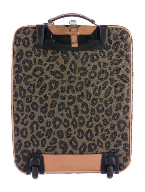 983e0a418b0 Mulberry Leopard Scotchgrain Trolley Suitcase - Handbags - MUL22337 ...