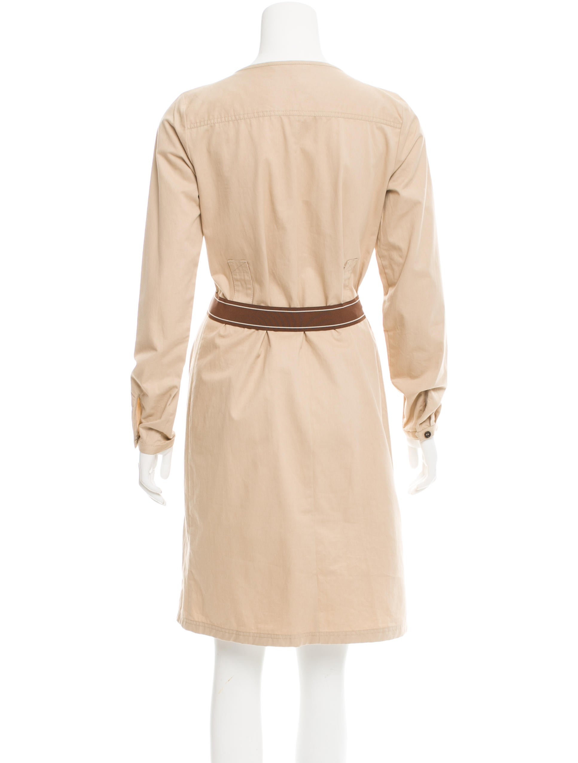 mulberry belted shift dress clothing mul22359 the