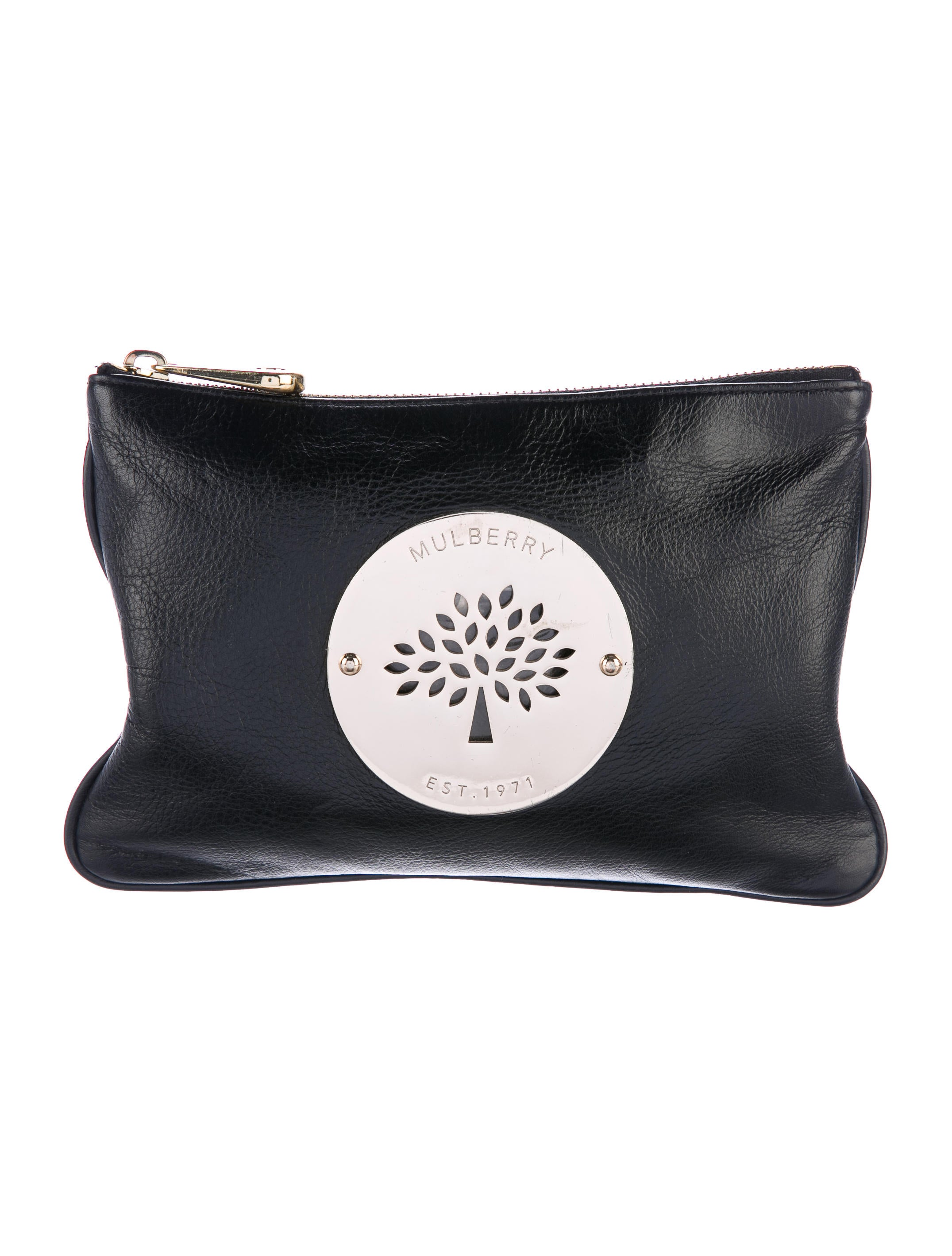 Mulberry Leather Daria Pouch - Handbags - MUL22696  1a0a0cb011e4b