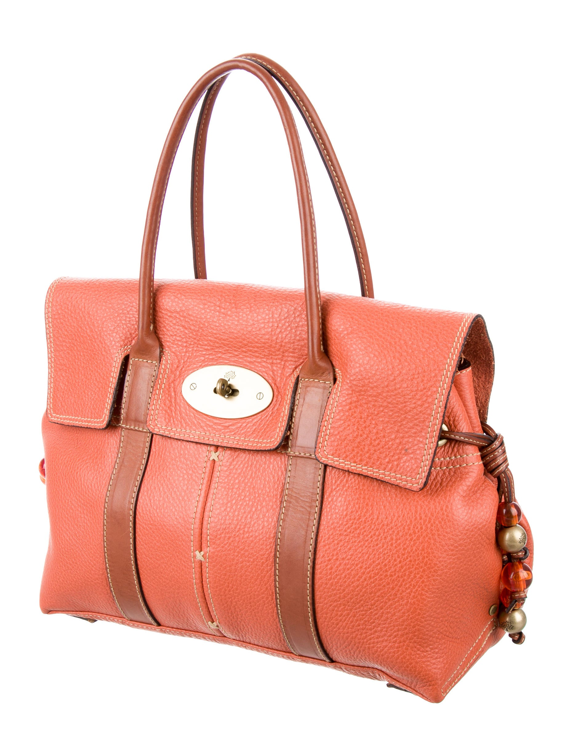 564f7d6d2bb5 Mulberry Leather Bayswater Bag - Handbags - MUL22743