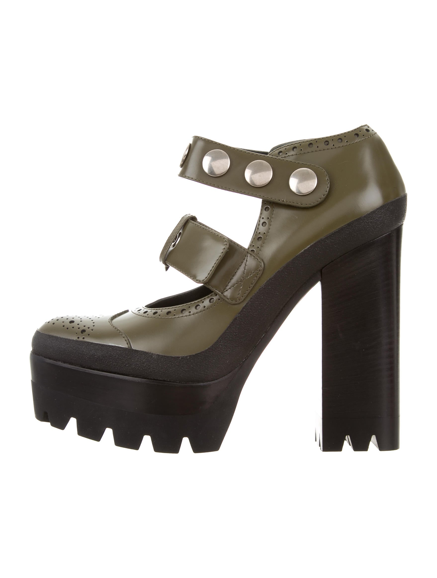 cheap sale get authentic outlet sast Mulberry Leather Platform Pumps cheap fast delivery the best store to get QP2hkI