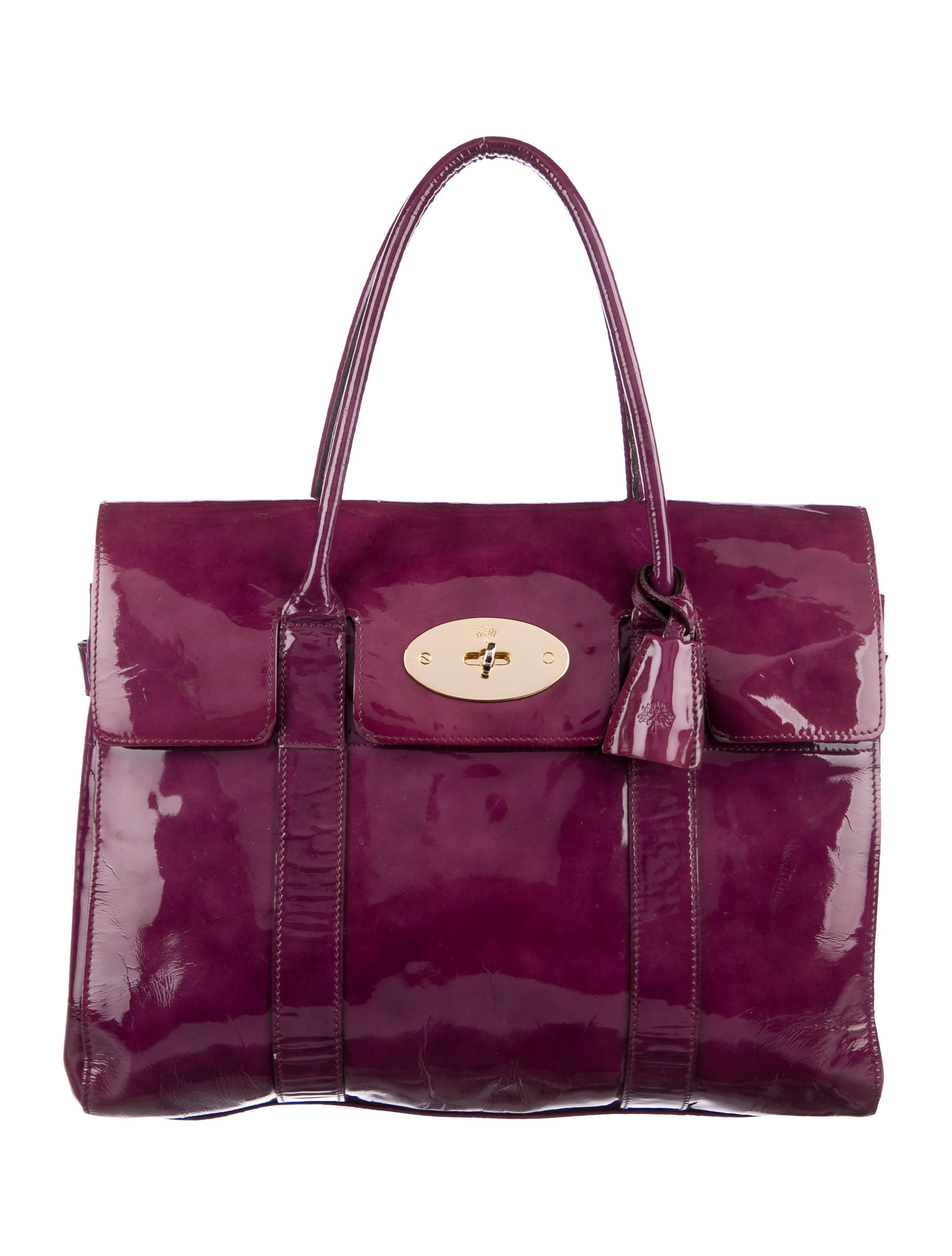 Mulberry bayswater bag handbags mul23170 the realreal for The bayswater