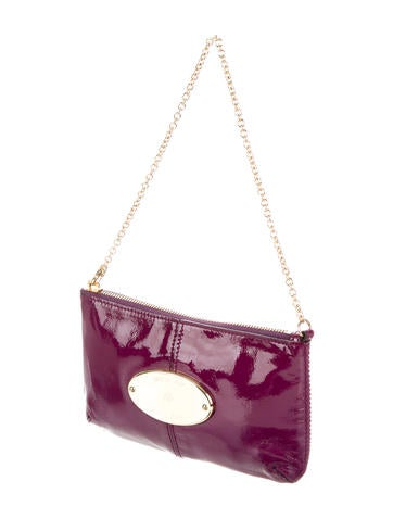 Mulberry Patent Leather Charlie Clutch - Handbags - MUL24260  7a9b00592e00d