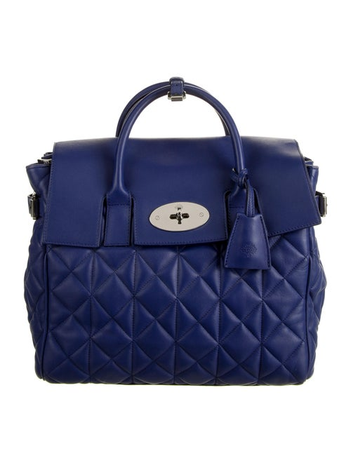 Mulberry Quilted Leather Bag Blue