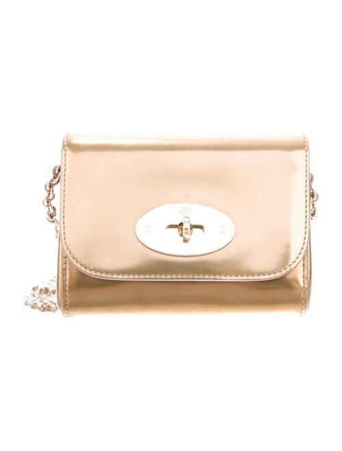Mulberry Mini Lily Crossbody Bag Gold