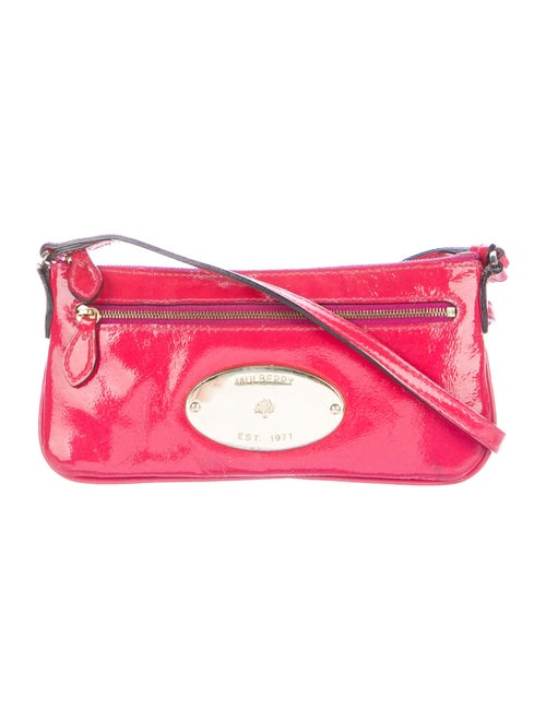 Mulberry Patent Leather Crossbody Bag Pink