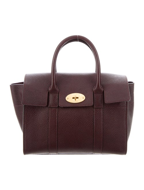 Mulberry Small Bayswater Satchel Purple