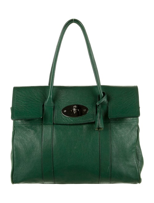 Mulberry Bayswater Handle Bag Green