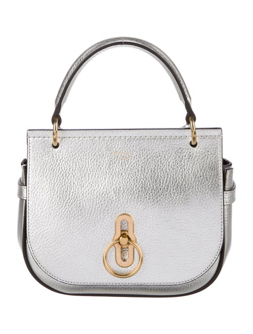 Mulberry Amberley Crossbody Bag Metallic