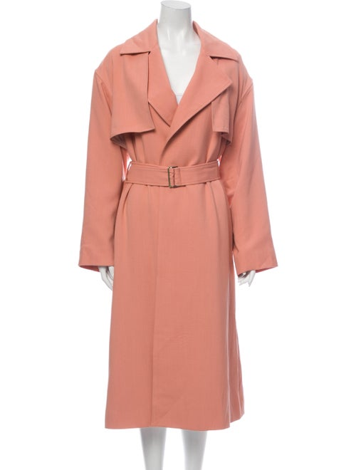 Michelle Waugh Trench Coat Pink