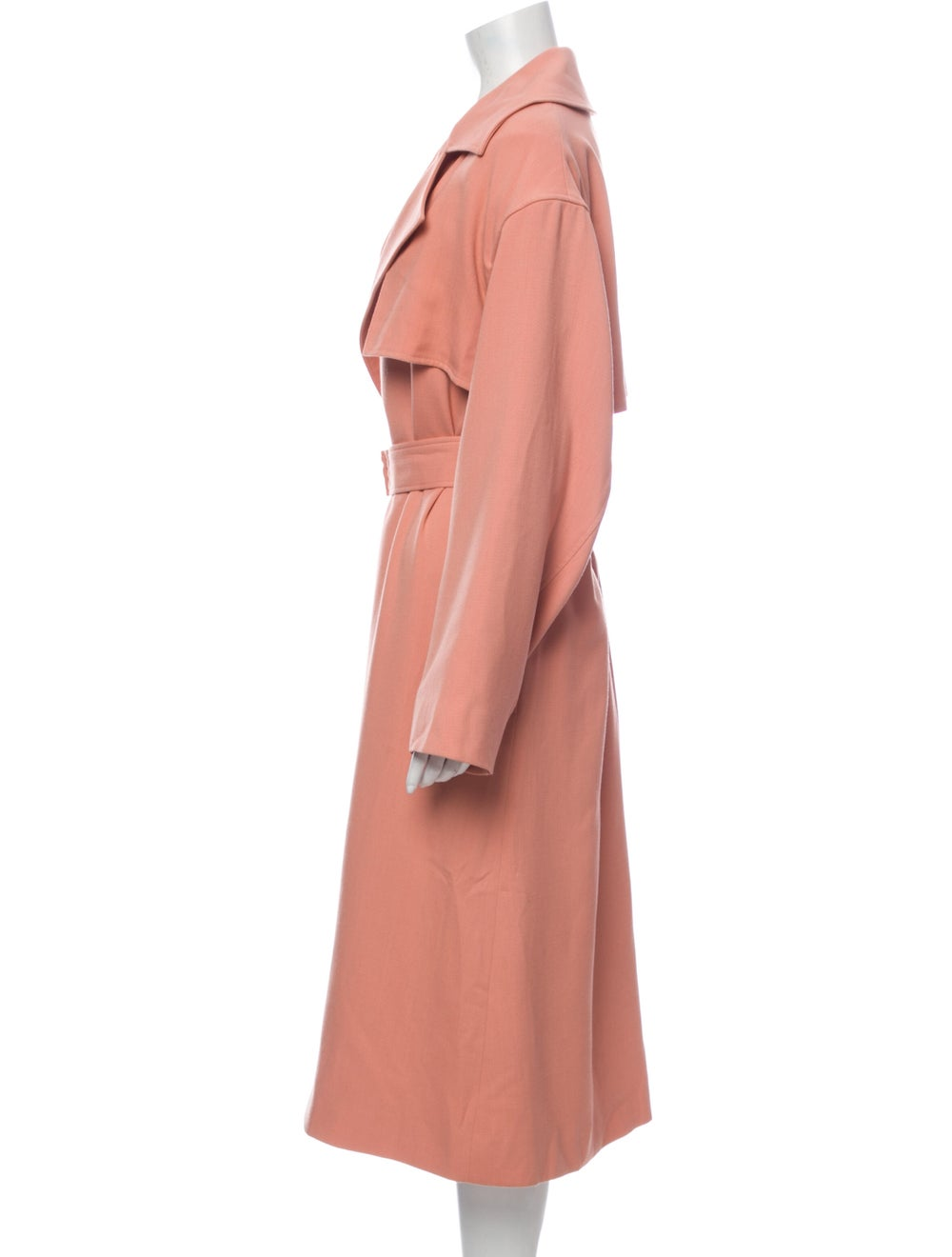 Michelle Waugh Trench Coat Pink - image 2