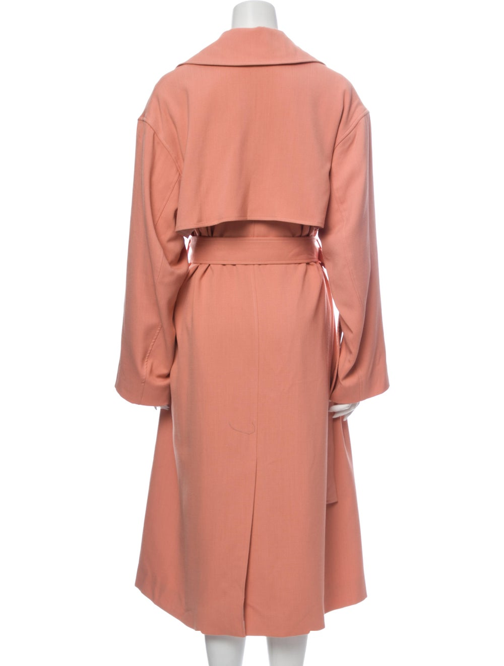 Michelle Waugh Trench Coat Pink - image 3