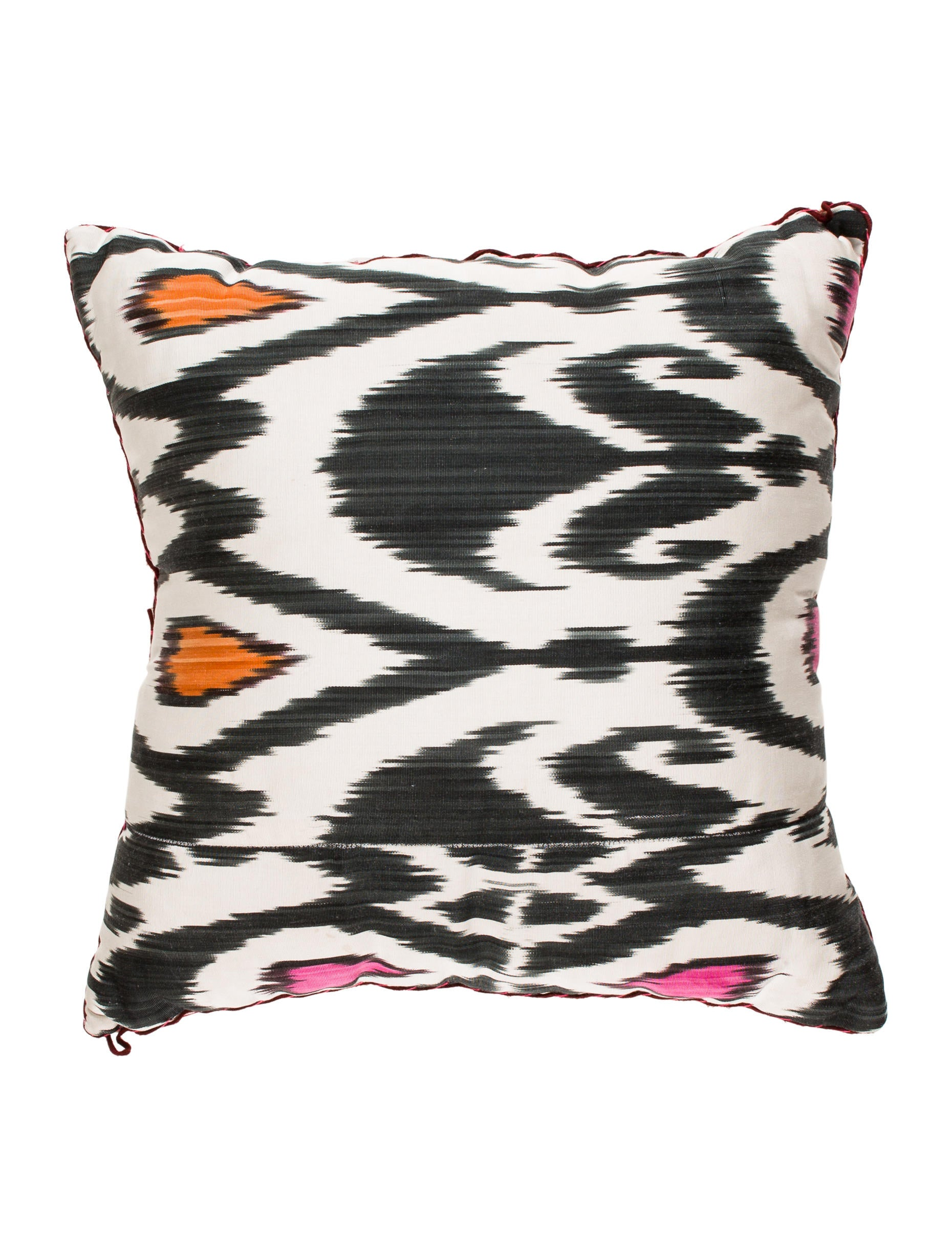 Madeline Weinrib Mother of Pearl-Embellished Throw Pillow - Pillows And Throws - MWR20028 The ...