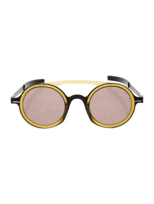 Mykita x Damir Doma Round Sunglasses olive