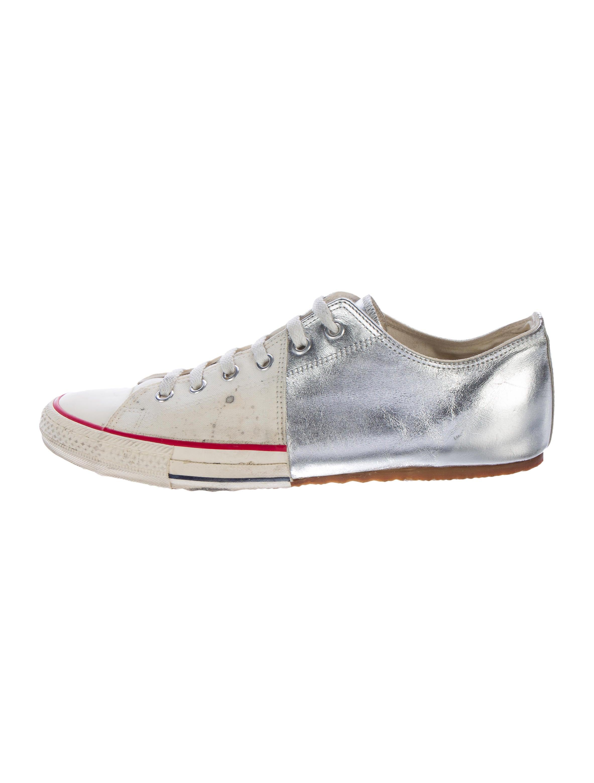 4138c2b3fbf4 Miharayasuhiro Deconstructed Half Converse Sneakers - Shoes ...