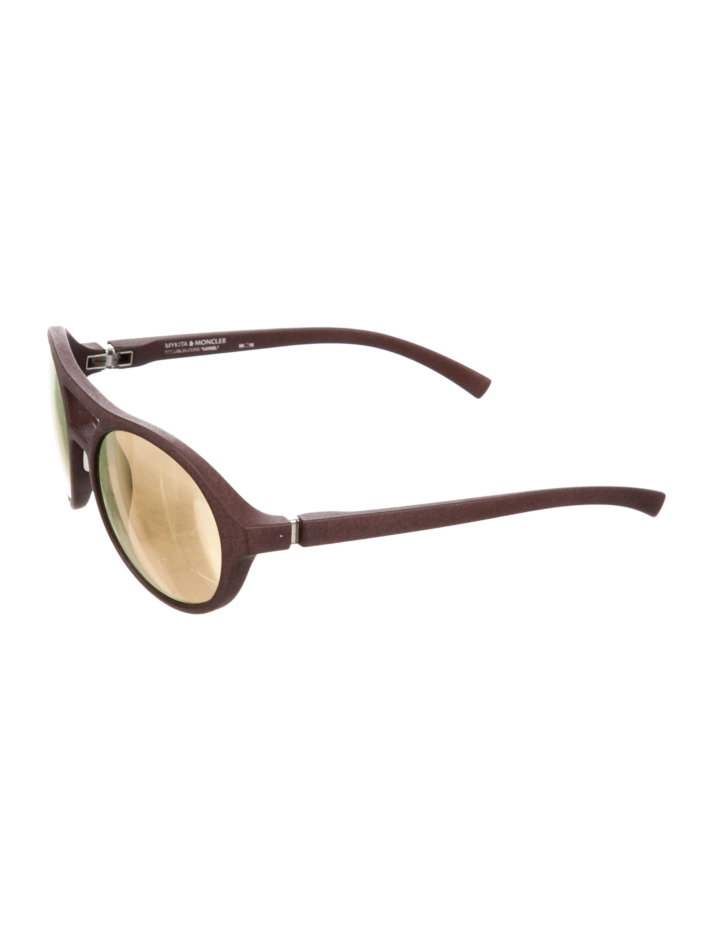 c6249be391c Mykita x Moncler Round Mirrored Sunglasses - Accessories - MYXMC20003