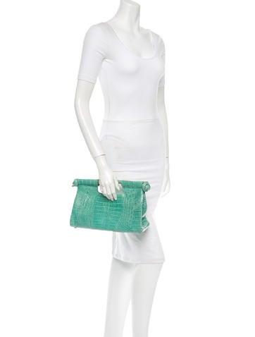 Crocodile Handle Bag