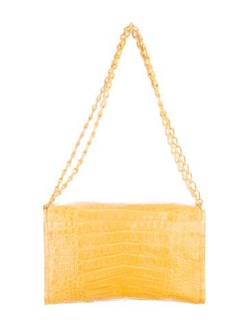 Medium Crocodile Chain Bag