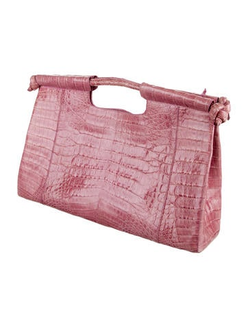 Crocodile Handle Bag