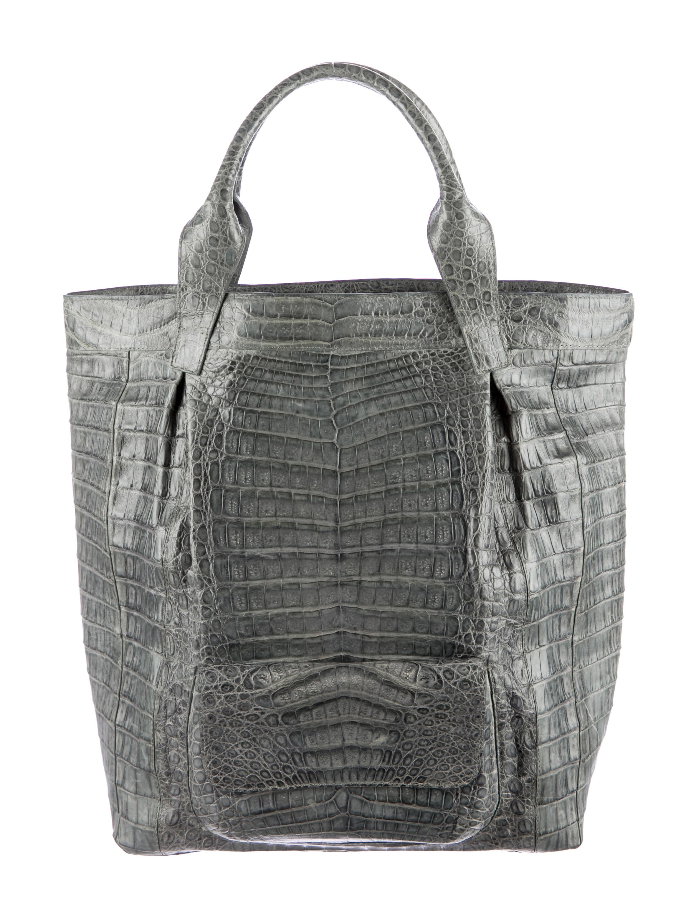 Nancy gonzalez crocodile vertical tote handbags for Nancy gonzalez crocodile tote