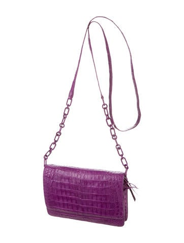 Crocodile Crossbody Bag