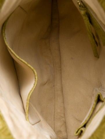 Woven Crocodile Shoulder Bag