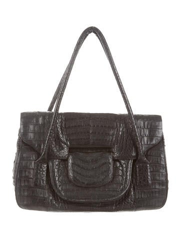 Crocodile Shoulder Bag