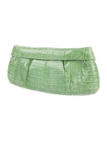 Crocodile Fold Clutch
