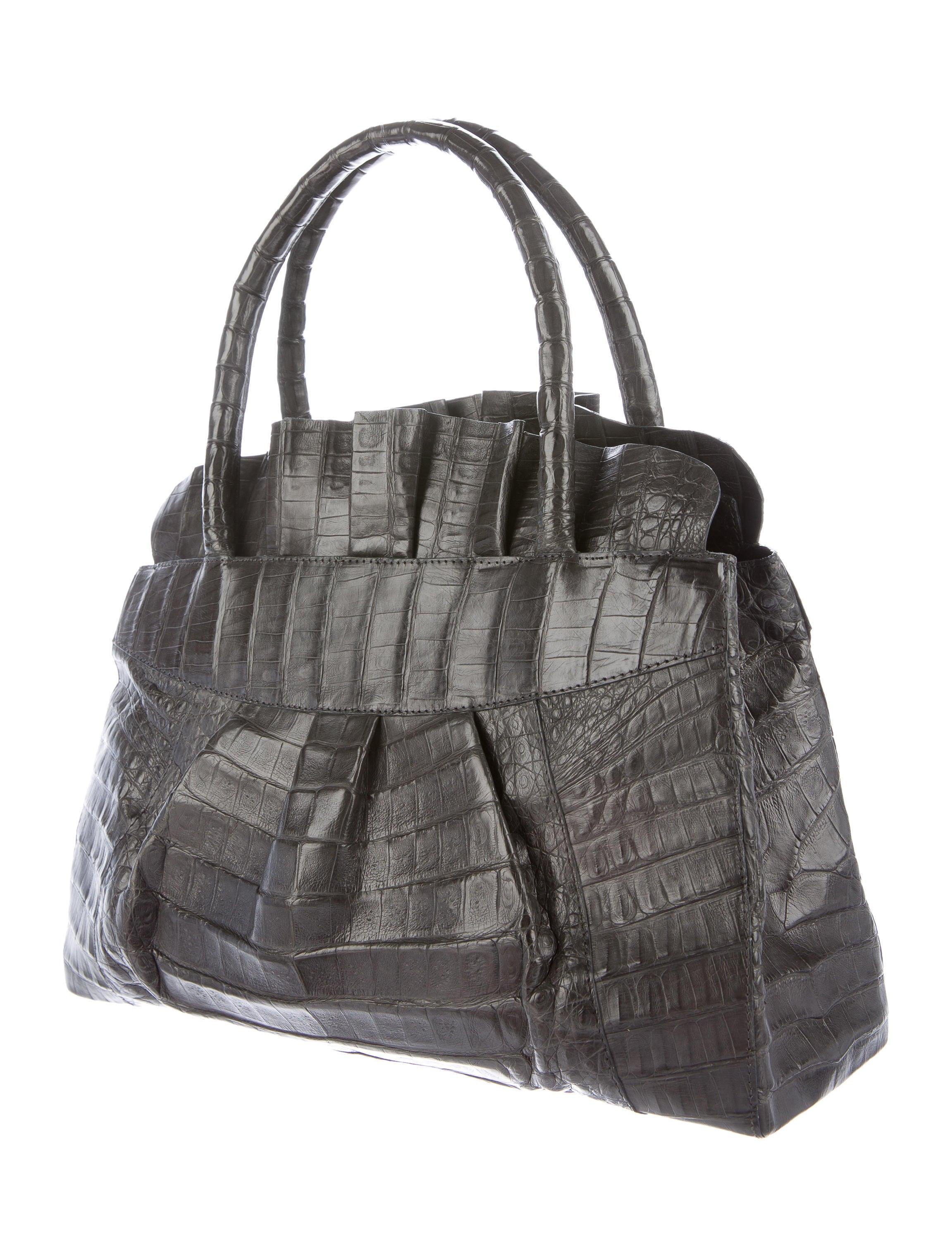Nancy gonzalez crocodile zip tote handbags nan22792 for Nancy gonzalez crocodile tote