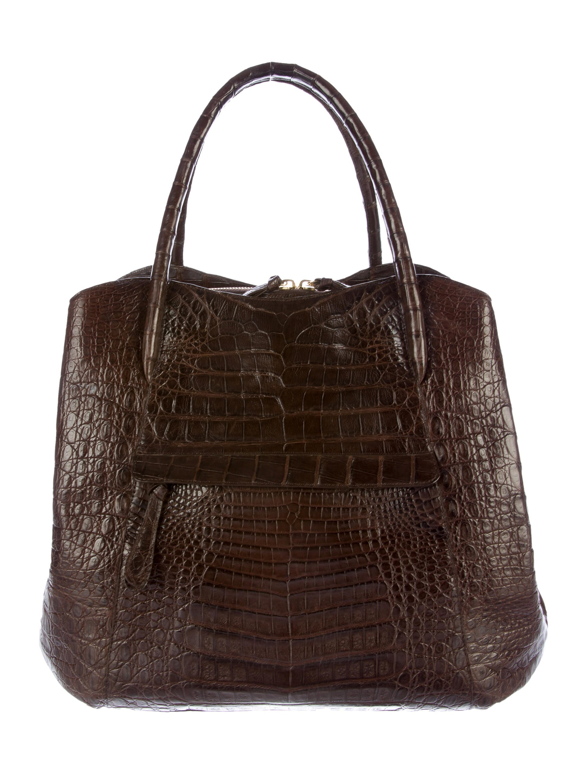 Nancy gonzalez crocodile zip tote handbags nan23313 for Nancy gonzalez crocodile tote