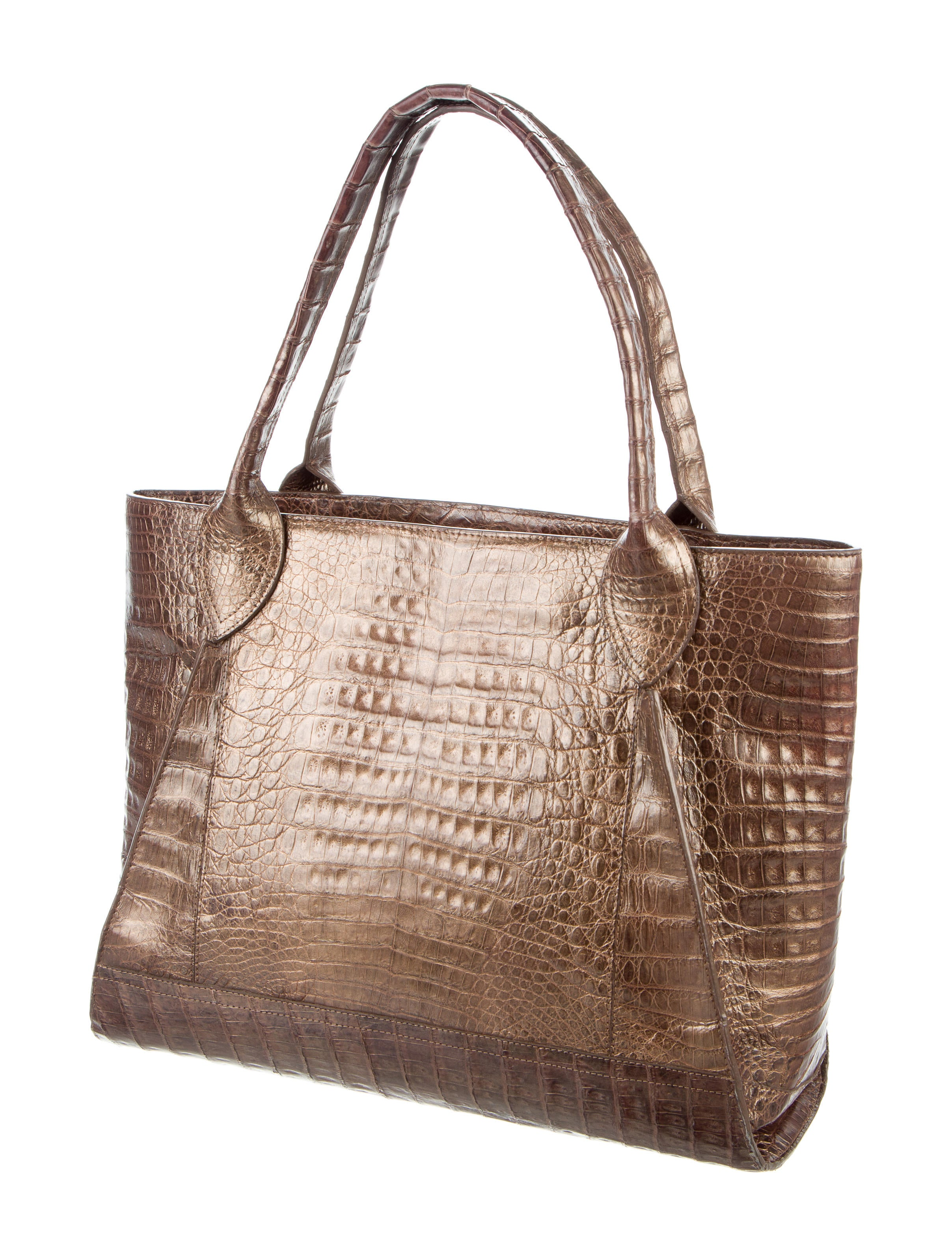 Nancy gonzalez crocodile tote handbags nan23646 the for Nancy gonzalez crocodile tote