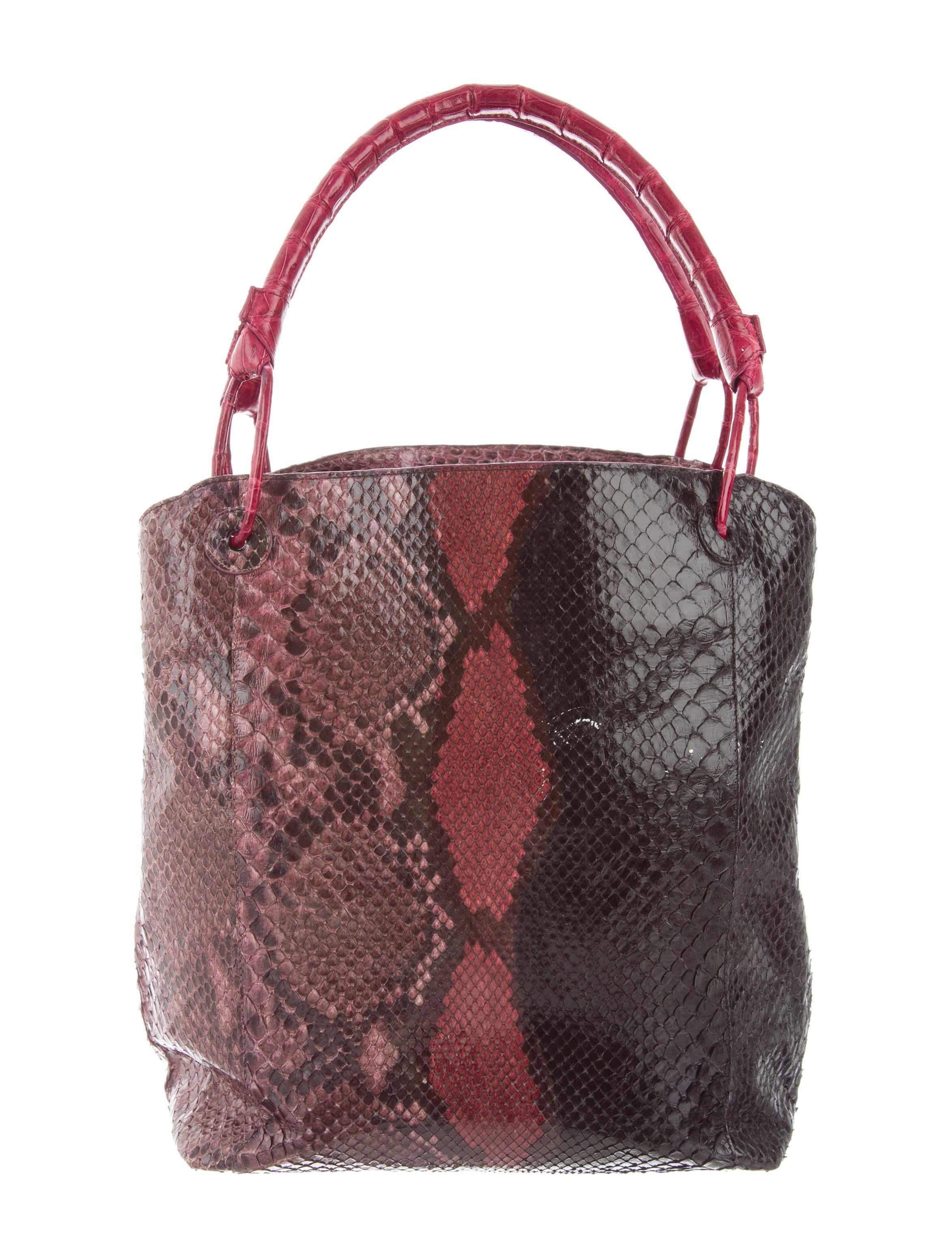 Nancy gonzalez python crocodile tote handbags for Nancy gonzalez crocodile tote