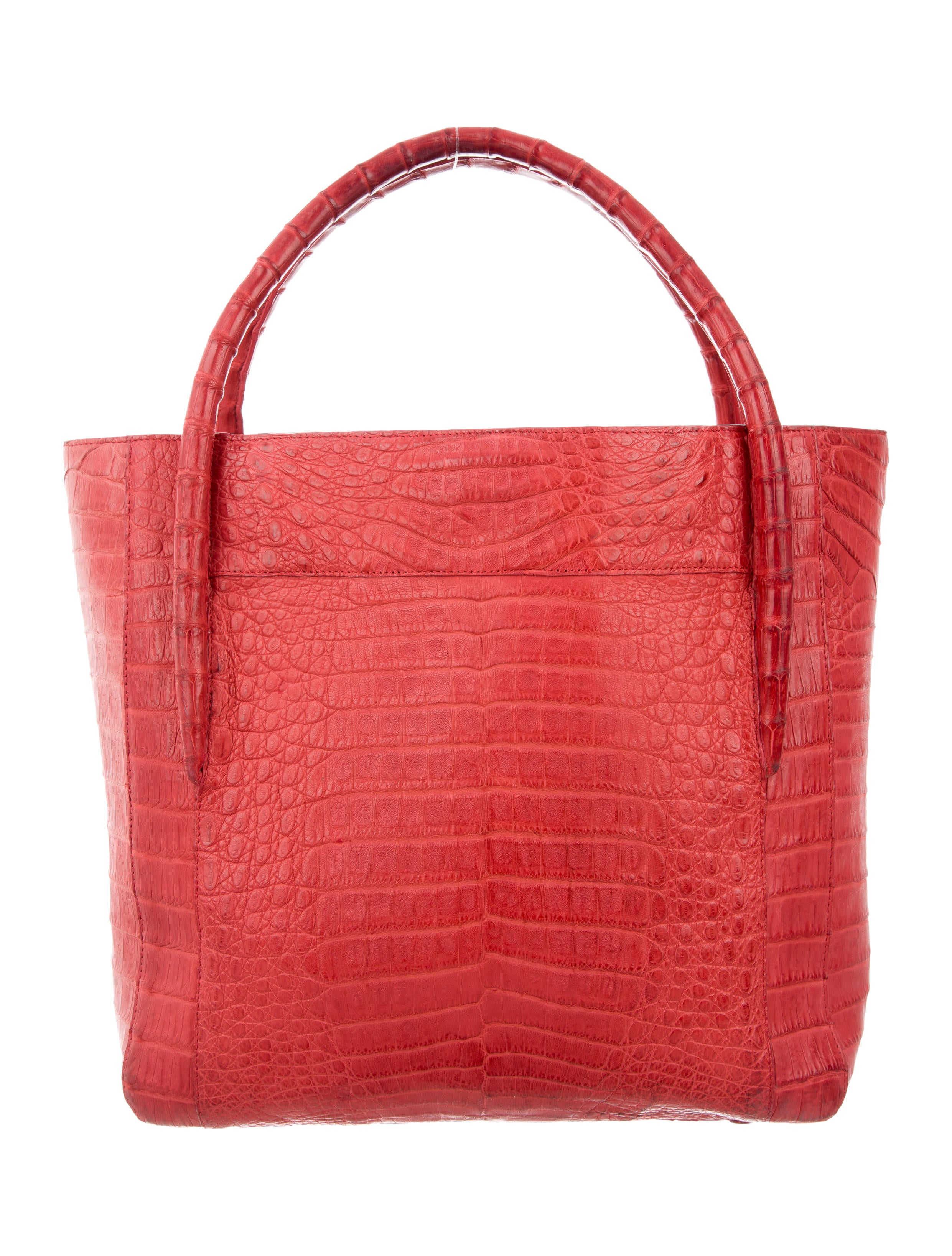 Nancy gonzalez small crocodile tote handbags nan23756 for Nancy gonzalez crocodile tote