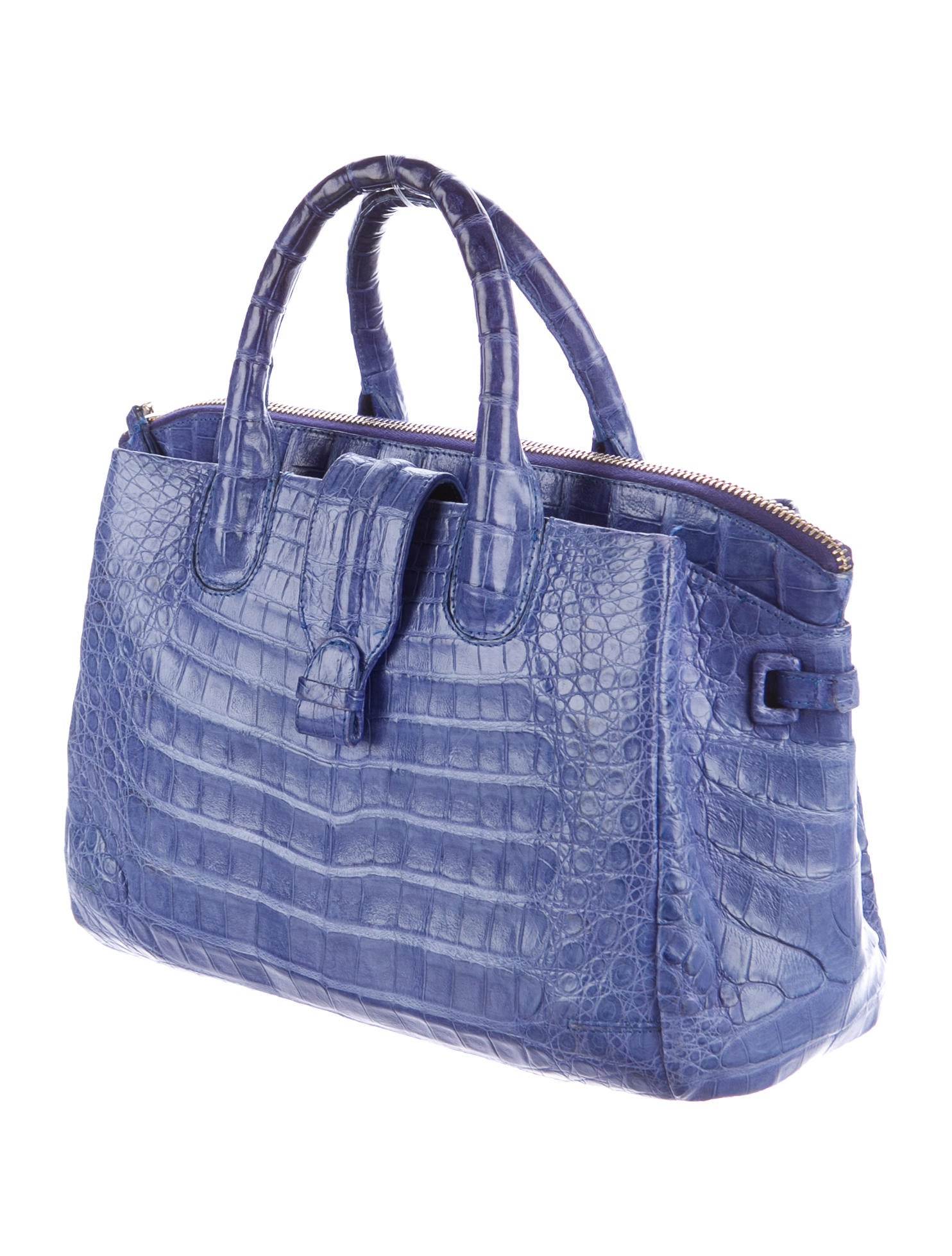Nancy gonzalez crocodile shoulder tote handbags for Nancy gonzalez crocodile tote
