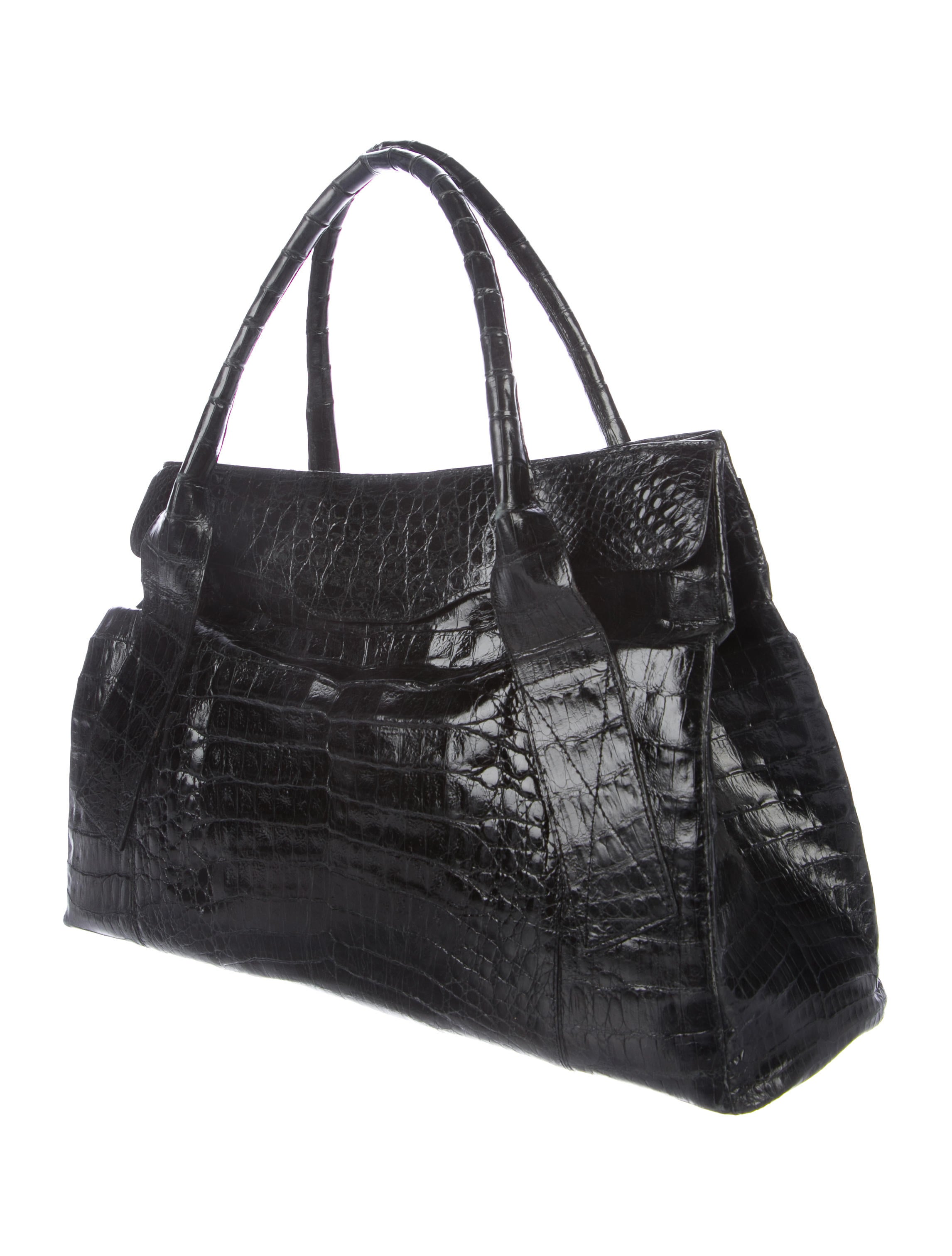 Nancy gonzalez crocodile shopper tote handbags for Nancy gonzalez crocodile tote