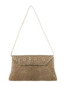 Nancy Gonzalez Lizard Shoulder Bag