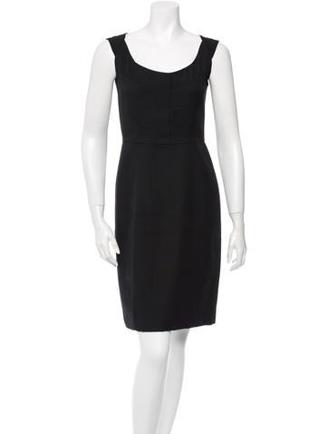 Narciso Rodriguez Wool Dress None