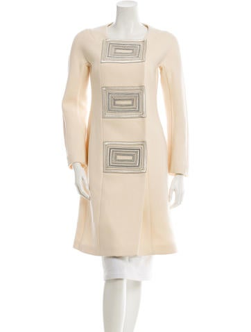 Narciso Rodriguez Embellished Coat None