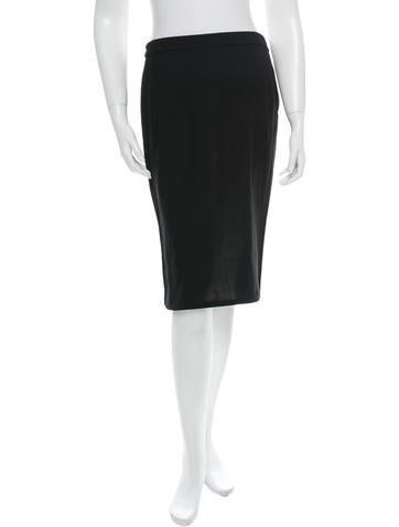 Narciso Rodriguez Wool Skirt None