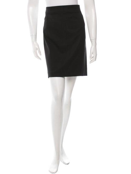 Narciso Rodriguez Black Pencil Skirt Black