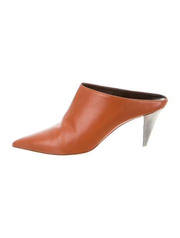 Narciso Rodriguez Leather Michala Mules None
