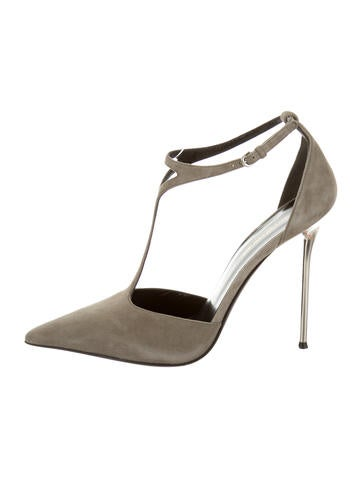 Narciso Rodriguez Jackie Suede Pumps w/ Tags None