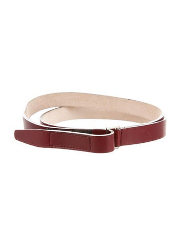 Narciso Rodriguez Leather Waist Belt None