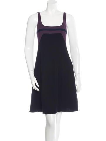 Narciso Rodriguez Colorblock Sleeveless Dress None
