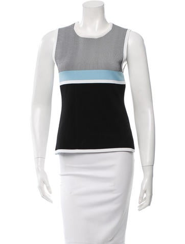 Narciso Rodriguez Reversible Knit Top None