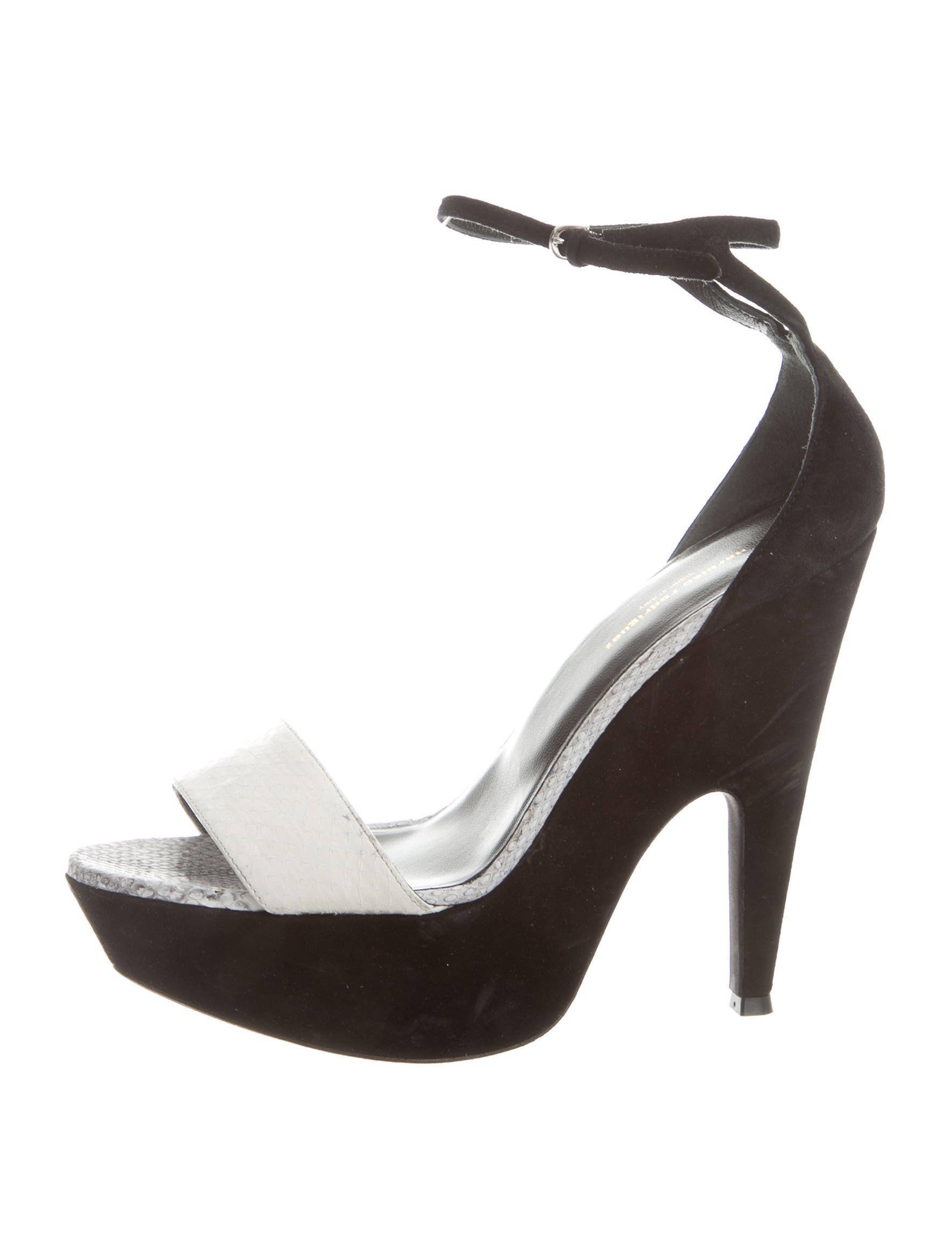 narciso rodriguez platform sandals shoes nar24548