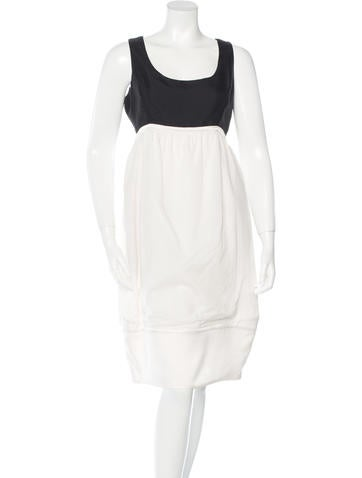 Narciso Rodriguez Colorblock Midi Dress None