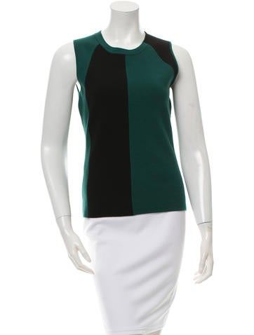 Narciso Rodriguez Colorblock Knit Top None
