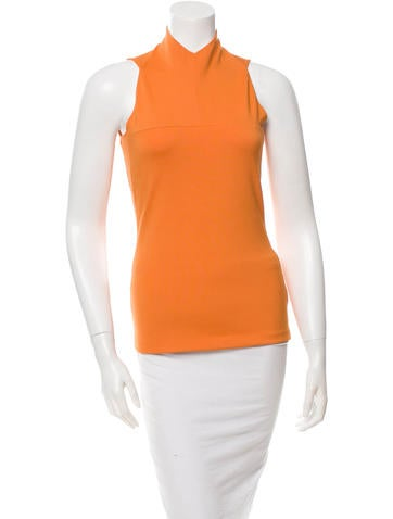 Narciso Rodriguez Sleeveless Crew Neck Top None