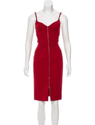 Knee-Length Cocktail Dress w/ Tags